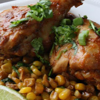 Cumin and Paprika Rubbed Chicken Drumsticks.