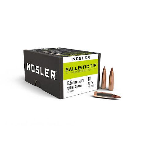 Nosler BT 6.5mm/ .264 Spitzer 120gr 50st