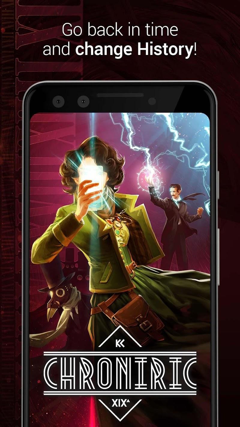 CHRONIRIC: Time Traveler - Interactive story Cheat APK MOD Free Download 1.20.12