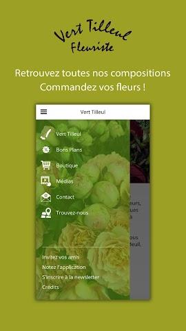 android Vert Tilleul Screenshot 4