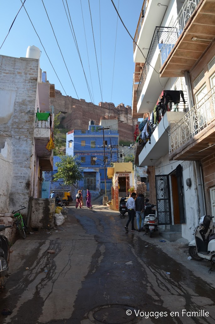 Jodhpur, montée au fort