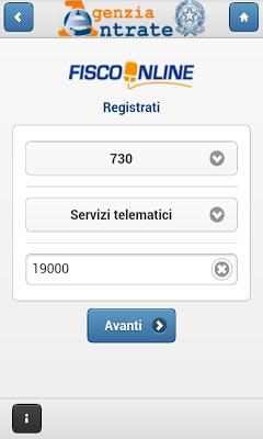 AgenziaEntrate - screenshot