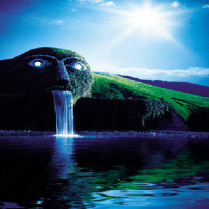 download Green Park Waterfall LWP apk