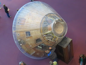Photo: Awesome aerial view of Apollo 11 Command Service Module