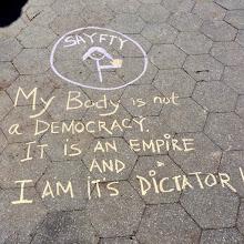 Photo: 4.11.15 NYC rally. Via Sayfty
