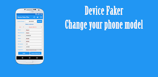 Apps Device Google - Faker Play On xposed