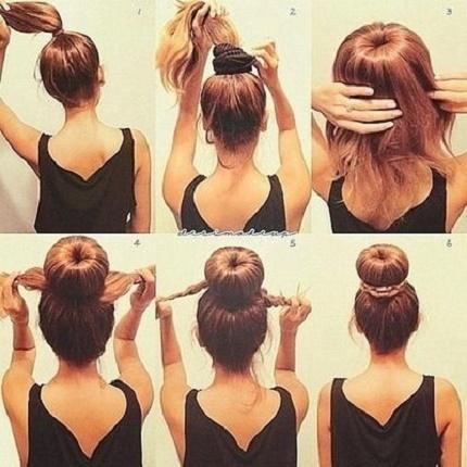 Peinados sencillos originales