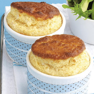 Gluten Free Cheese and Mustard Souffles