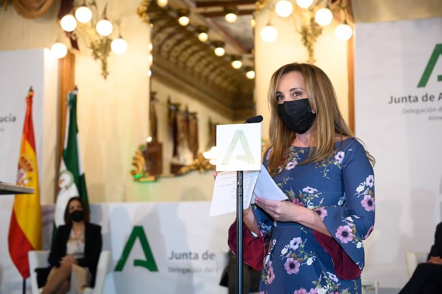 Enriqueta Quesada, representante de los tres distritos sanitarios