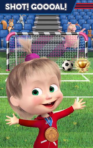Masha and the Bear: Football Games for kids 1.3.7 screenshots 11