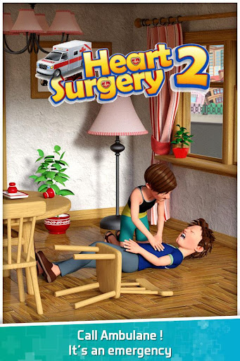 Heart Surgery Simulator 2: Emergency Doctor Game 1.0.8 screenshots 1