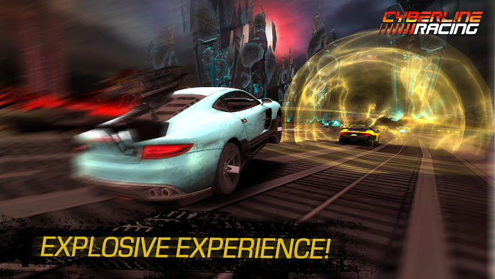 Cyberline Racing - screenshot