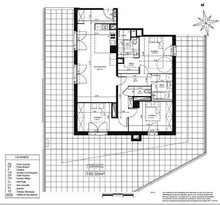 Vente appartement 4 pièces 89,52 m2