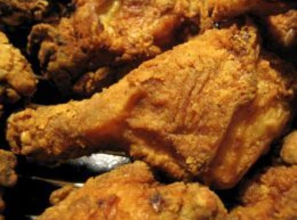 Place chicken pieces in bag with seasoned flour and shake until thoroughly coated. ...