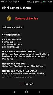 Black Desert Alchemy - náhled