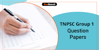 TNPSC Group 1 Question Papers: Download Previous Year Question Paper