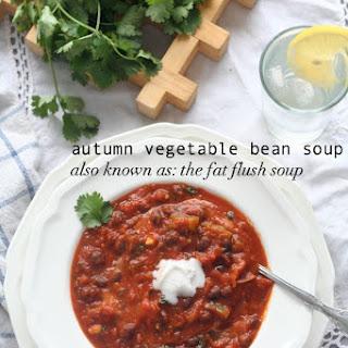 Autumn Vegetable Soup (Vegetarian Fat Flush Soup) Recipe