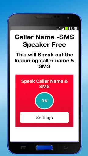 Caller Name -SMS Speaker Free