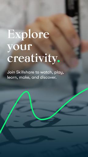 Skillshare - Creative Classes screenshot