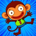 MONKEY GAMES : offline games  no wifi games free. icon