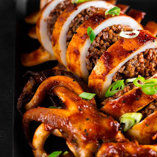 Korean Grilled Stuffed Squid.