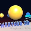 3D weather komp icon