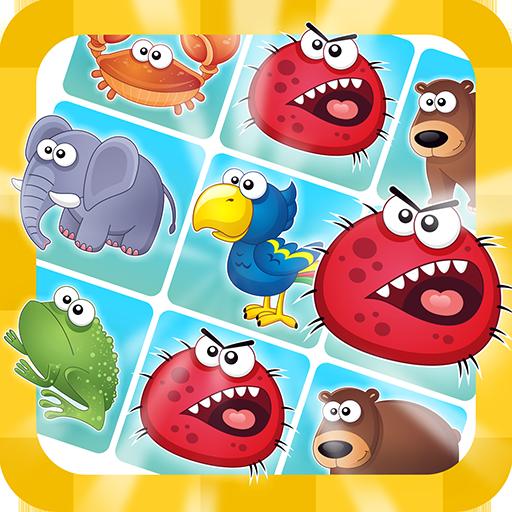 ダーウィン進化論理パズルゲームズで3連 puzzle 街機 App LOGO-硬是要APP
