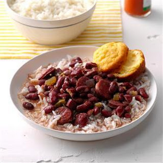 Pressure Cooker Lora's Red Beans & Rice.