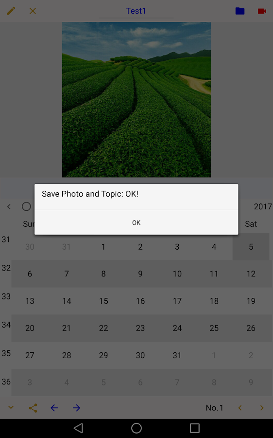 Photo Calendar (Paid)- screenshot