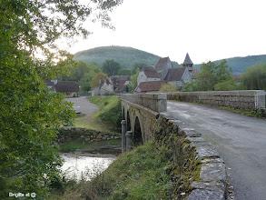 Photo: Pont sur le Célé pour quitter Espagnac