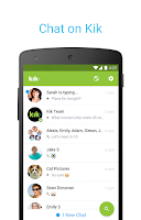 Screenshot of Kik