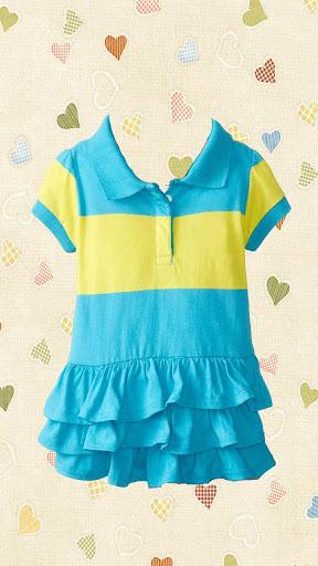 Baby Girl Fashion Photo Maker