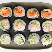 5. Spicy Salmon, Cali and Cucumber