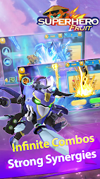 Superhero Fruit Premium: Robot Wars Future Battles APK screenshot thumbnail 2