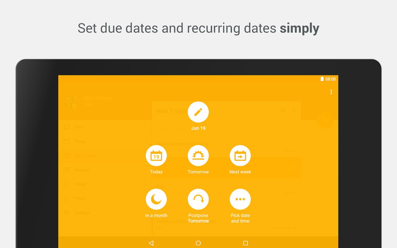 Todoist: To-Do List, Task List- screenshot