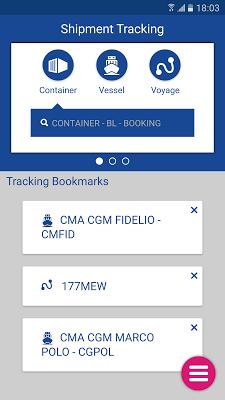 CMA CGM - screenshot