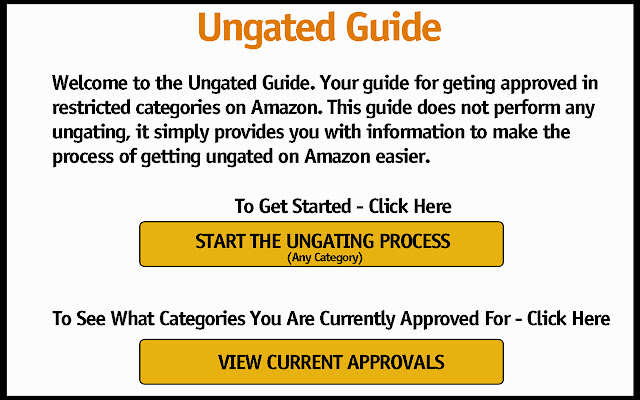 Ungated Guide