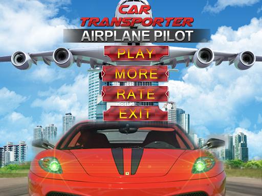 Car Transporter Airplane Pilot