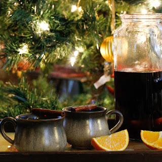 Russian mulled wine (Glintvein)