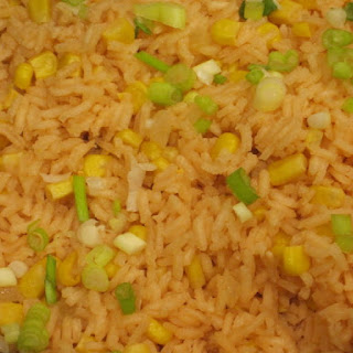 Spanish Rice with Corn.