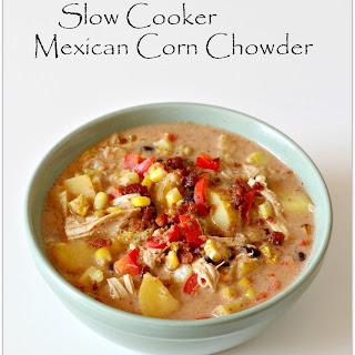 Crockpot Mexican Corn Chowder
