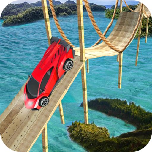 360° Car Stunts: 98% Impossible Tracks