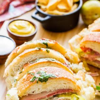 Garlic Bread Sandwich Loaf