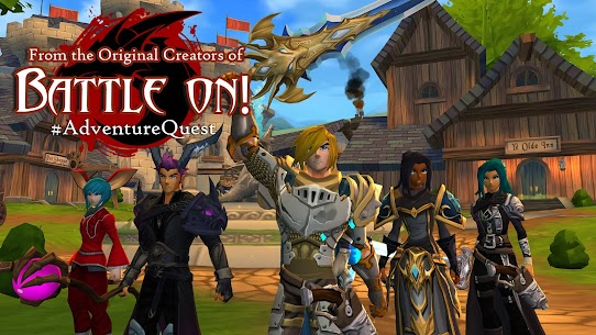 AdventureQuest 3D 1.5.4 Apk (Infinite Gems) MOD 1