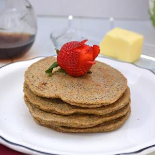 Flax Pancakes   Low Carb & Diabetic Friendly.
