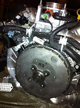 Photo: un petit régime s'impose pour ce volant moteur