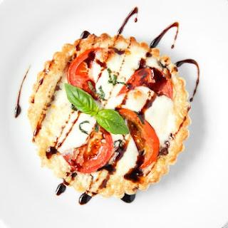 Tomato and Mozzarella Tart.