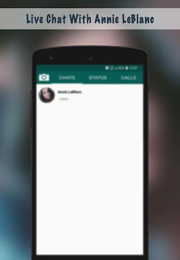 Live Chat With Annie LeBlanc - Prank 1.0 screenshots 2