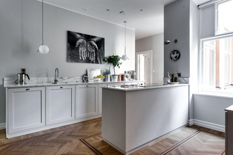 Cuisine de style scandinave: éléments décoratifs