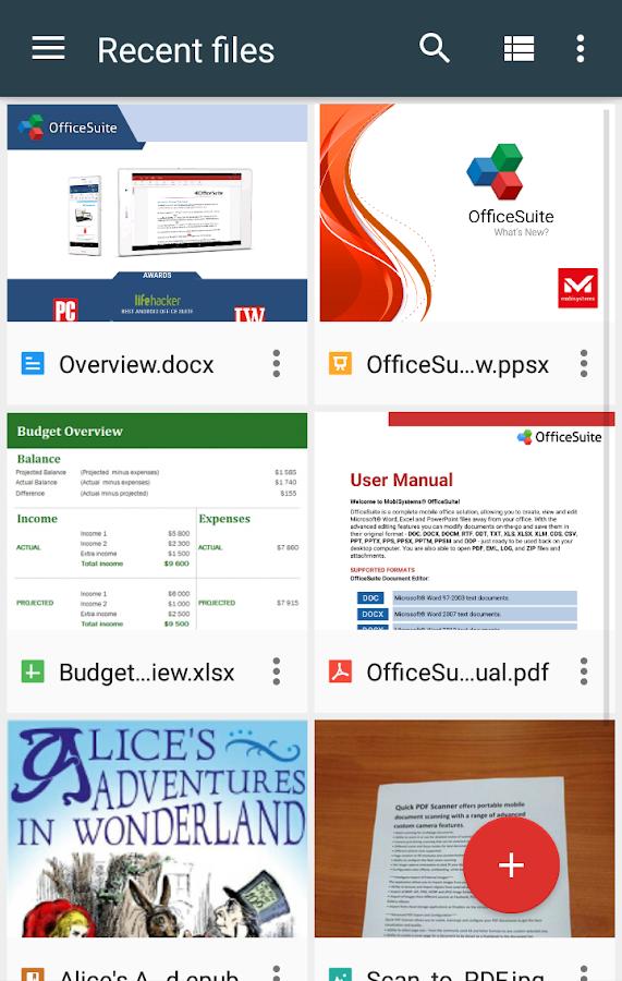 OfficeSuite Pro + PDF (Trial)- screenshot
